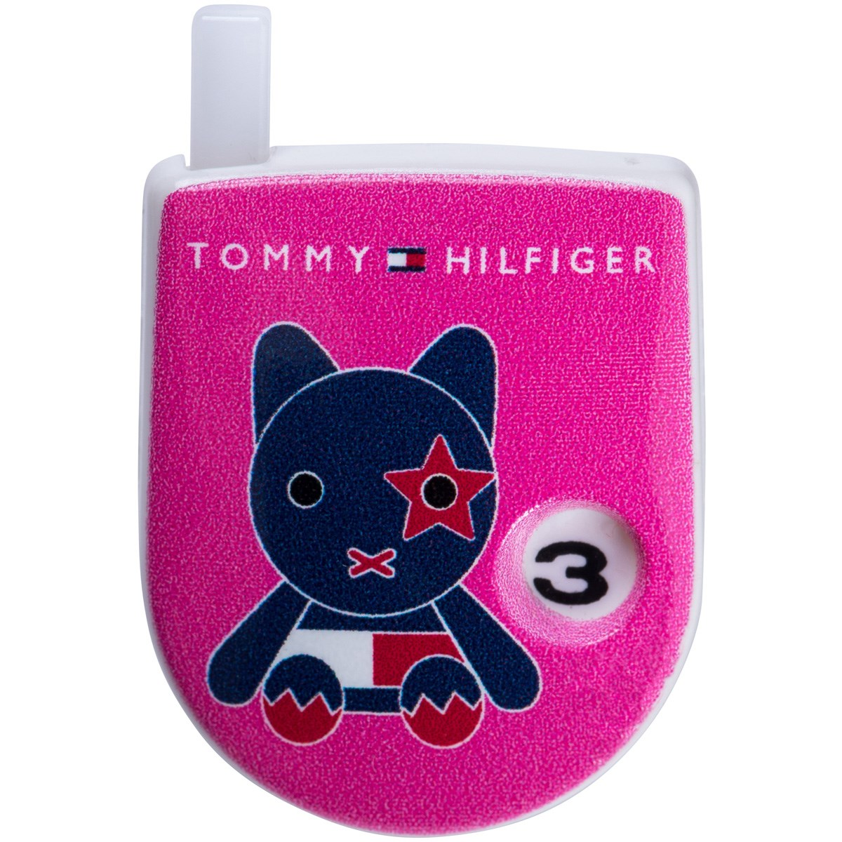 トミー ヒルフィガー ゴルフ TOMMY HILFIGER GOLF MASCOT カウンター ピンク 48