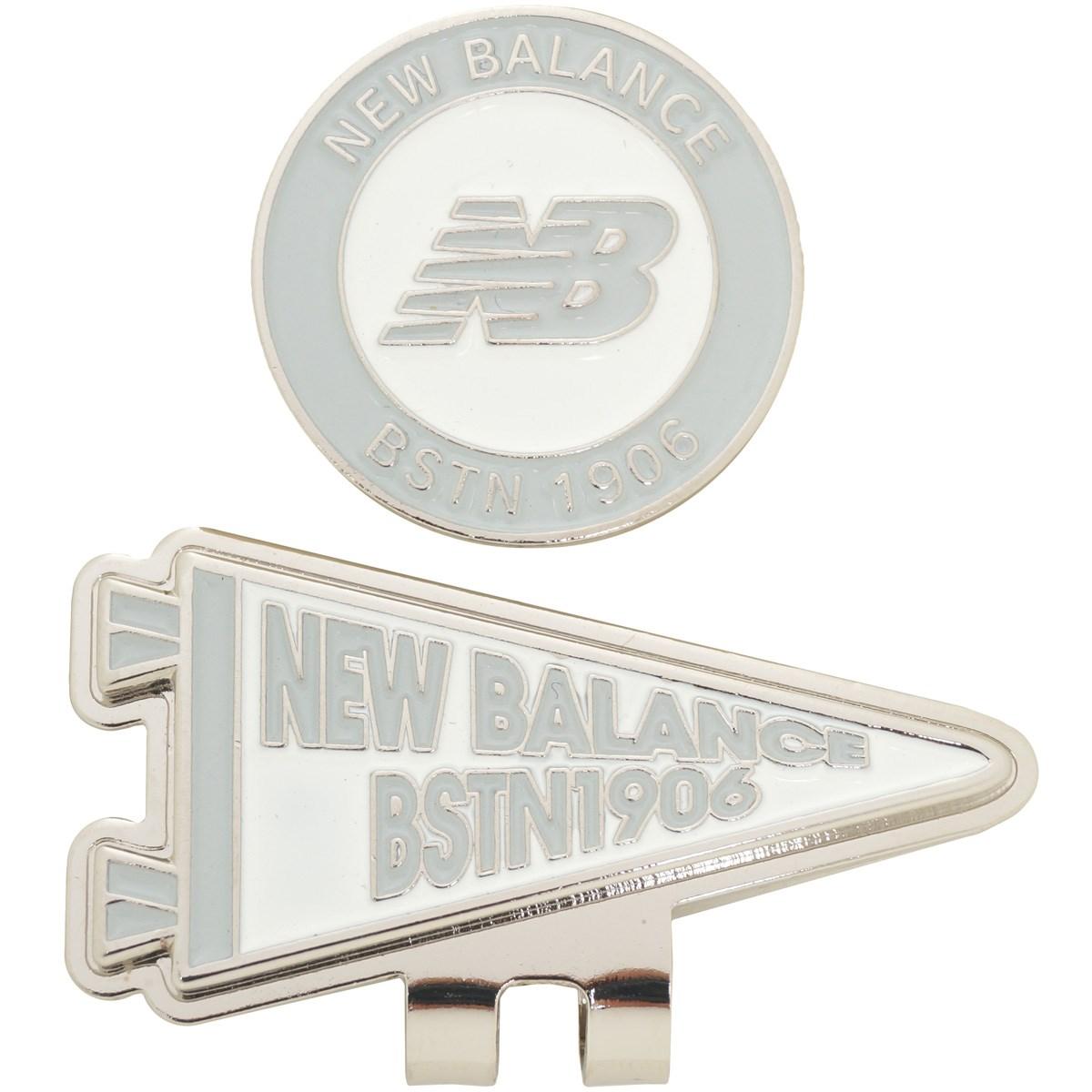 ニューバランス METRO フラッグ×new balanceロゴクリップマーカー