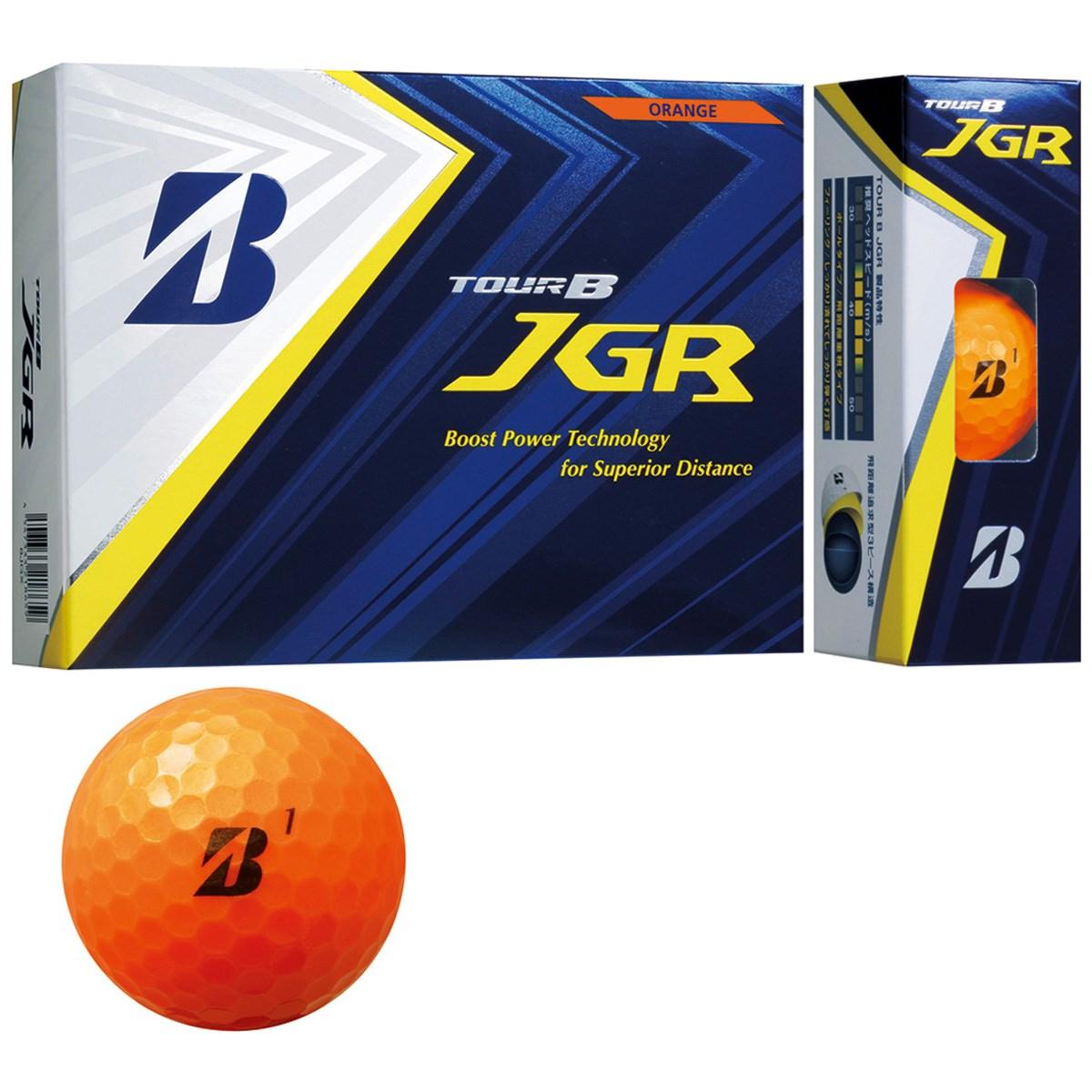 ブリヂストン TOUR B JGRボール 1ダース(12個入り) オレンジ