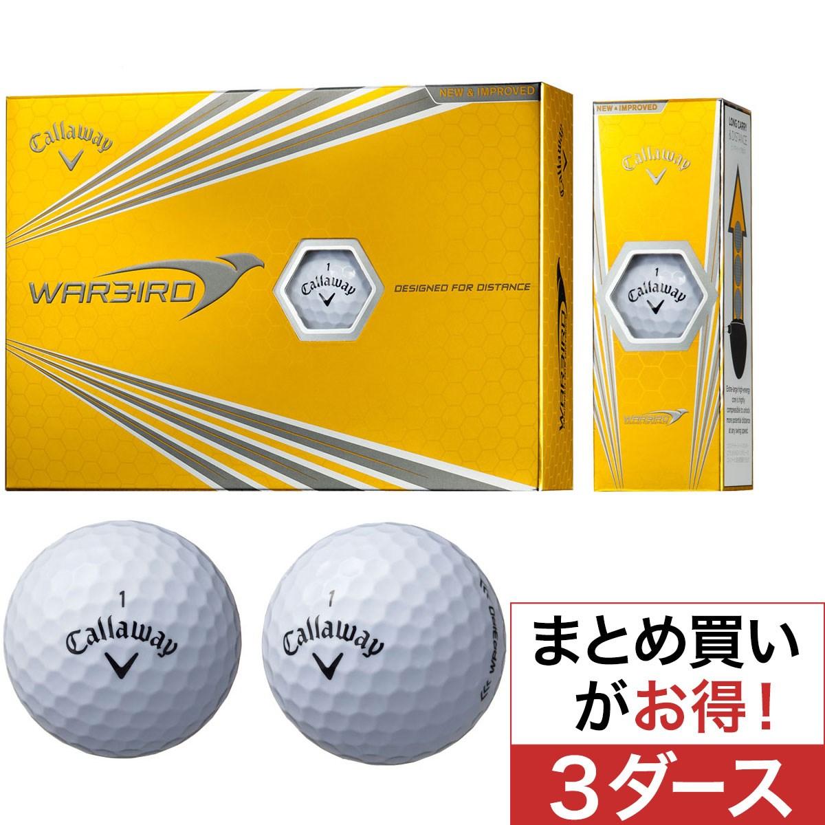 キャロウェイゴルフ(Callaway Golf) ウォーバード ボール 2017年モデル 3ダースセット
