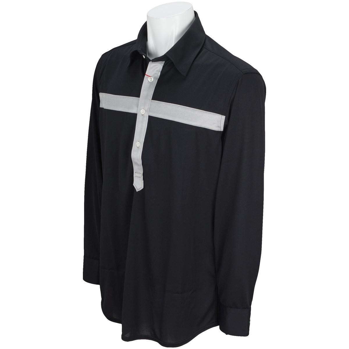 ブラッドシフト クロス長袖ポロシャツ