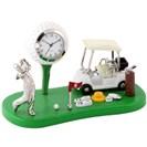 <ゴルフダイジェスト> ミニチュアクロックコレクション ミニチュア置時計 ゴルファー ゴルフウェア画像