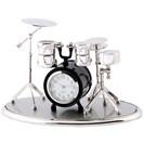 <ゴルフダイジェスト> ミニチュアクロックコレクション ミニチュア置時計 ドラムセット ゴルフウェア画像