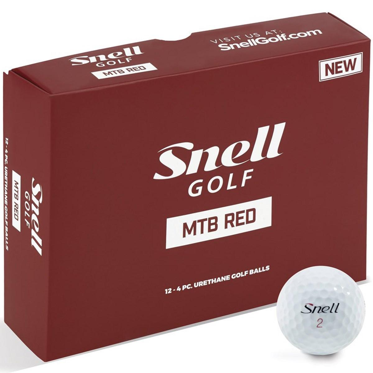 スネルゴルフ MTB RED ボール