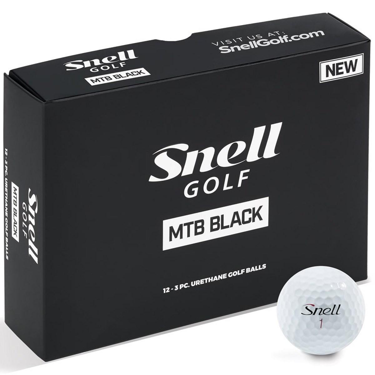 スネルゴルフ MTB BLACK ボール(1スリーブ)