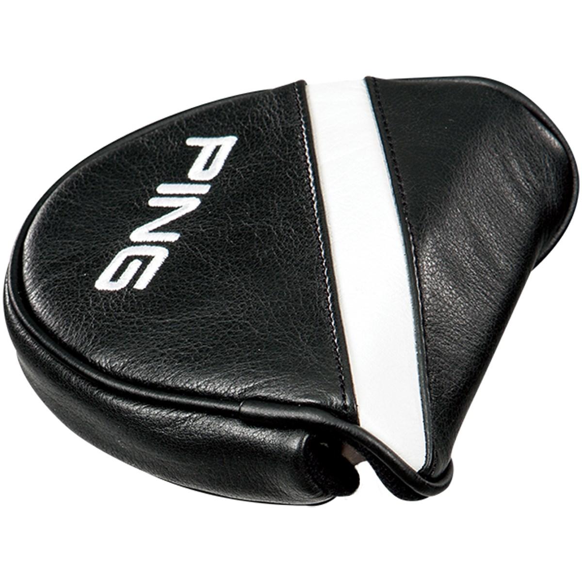 [2018年モデル] ピン PING レザー パターカバー ブラック メンズ ゴルフ