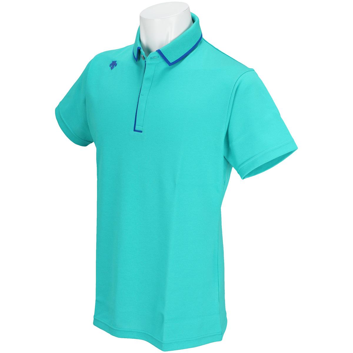 ストレッチ半袖ニットポロシャツ