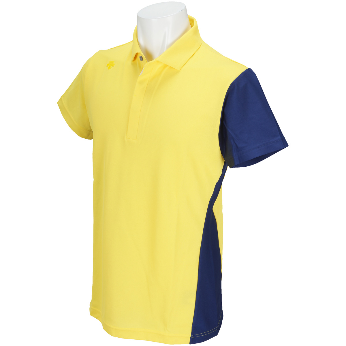半袖ニットポロシャツ