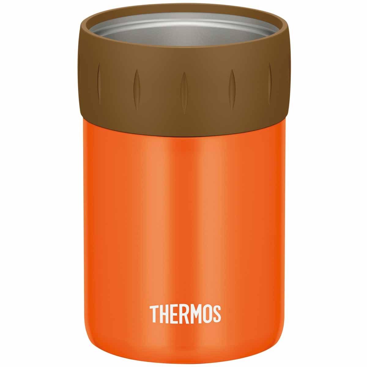 サーモス THERMOS 保冷缶ホルダー 350ml缶用 オレンジ