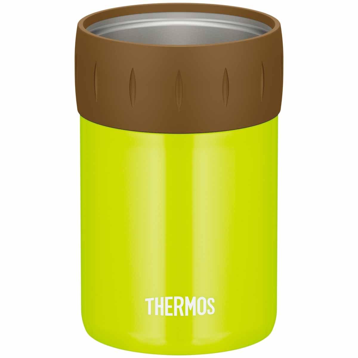 サーモス THERMOS 保冷缶ホルダー 350ml缶用 ライムグリーン