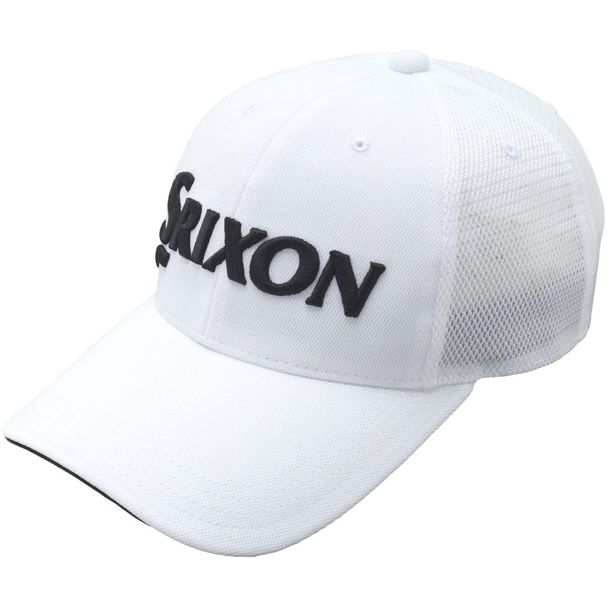 ダンロップ SRIXON メッシュキャップ フリー ホワイト