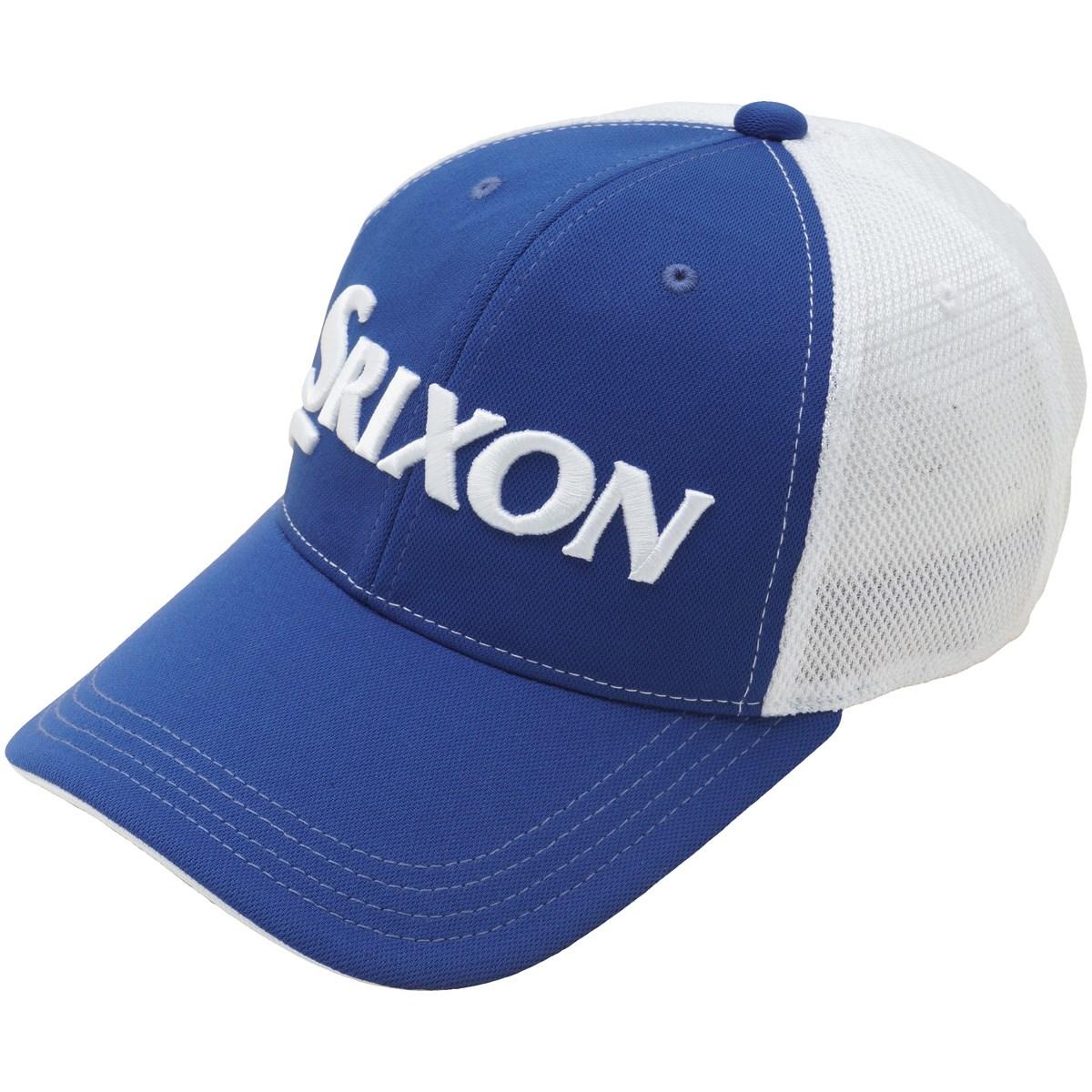 ダンロップ SRIXON メッシュキャップ フリー ブルー/ホワイト