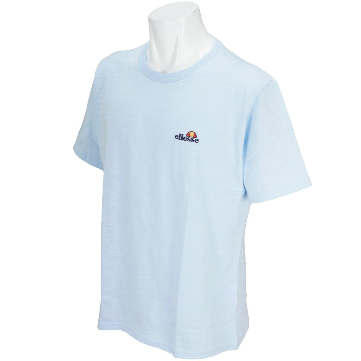 エレッセ ellesse ヘリテージリネン半袖Tシャツ S エンジェルブルー