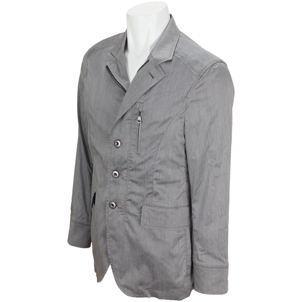 ウエザーライクラフィットフロントジップジャケット