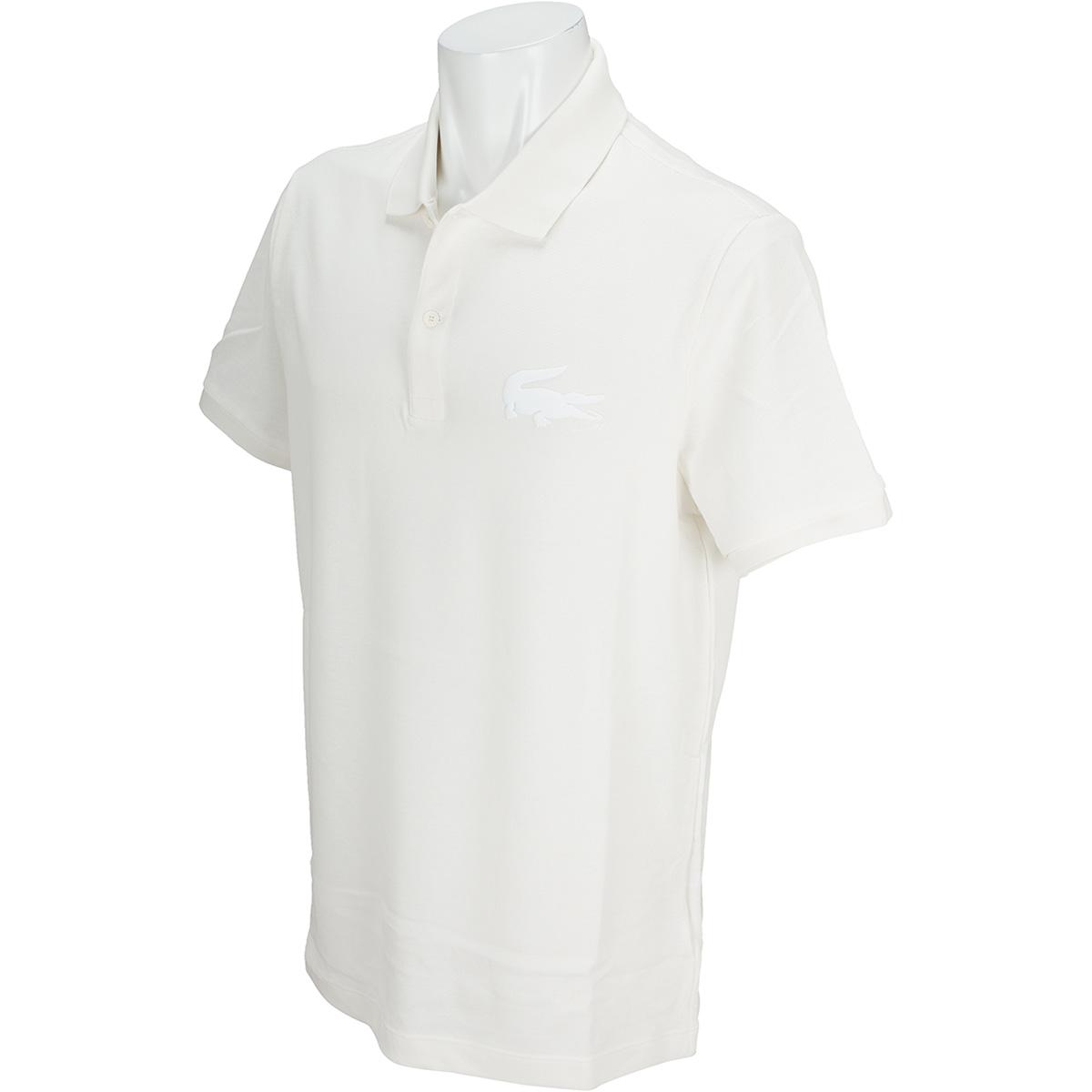 スリムフィット ワニロゴ プチピケ 半袖ポロシャツ