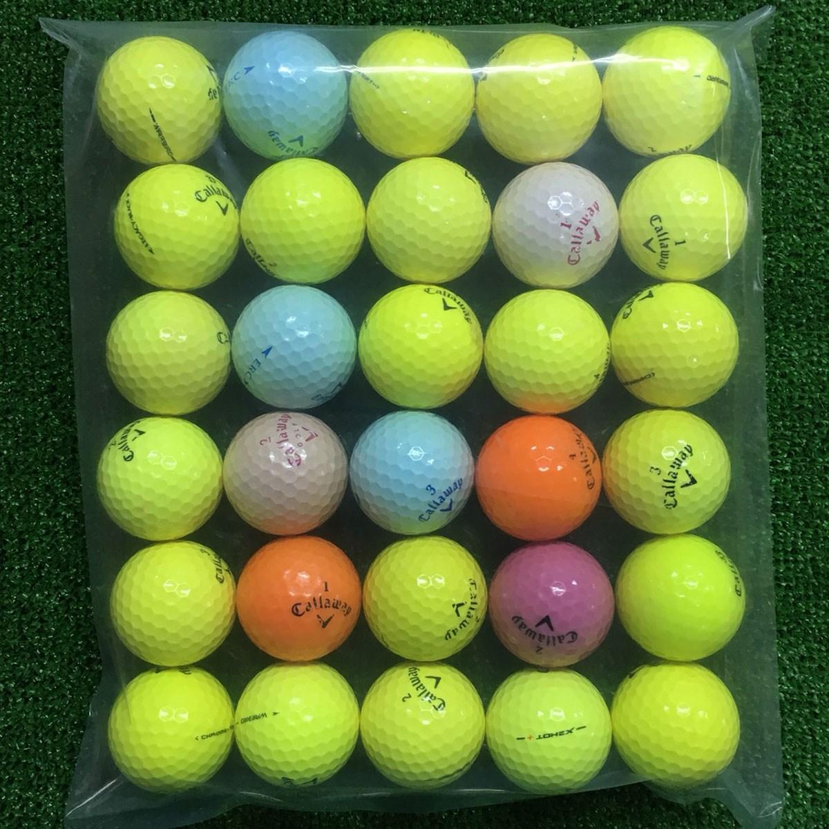 ロストボール Callaway 混合 ボール 30個セット