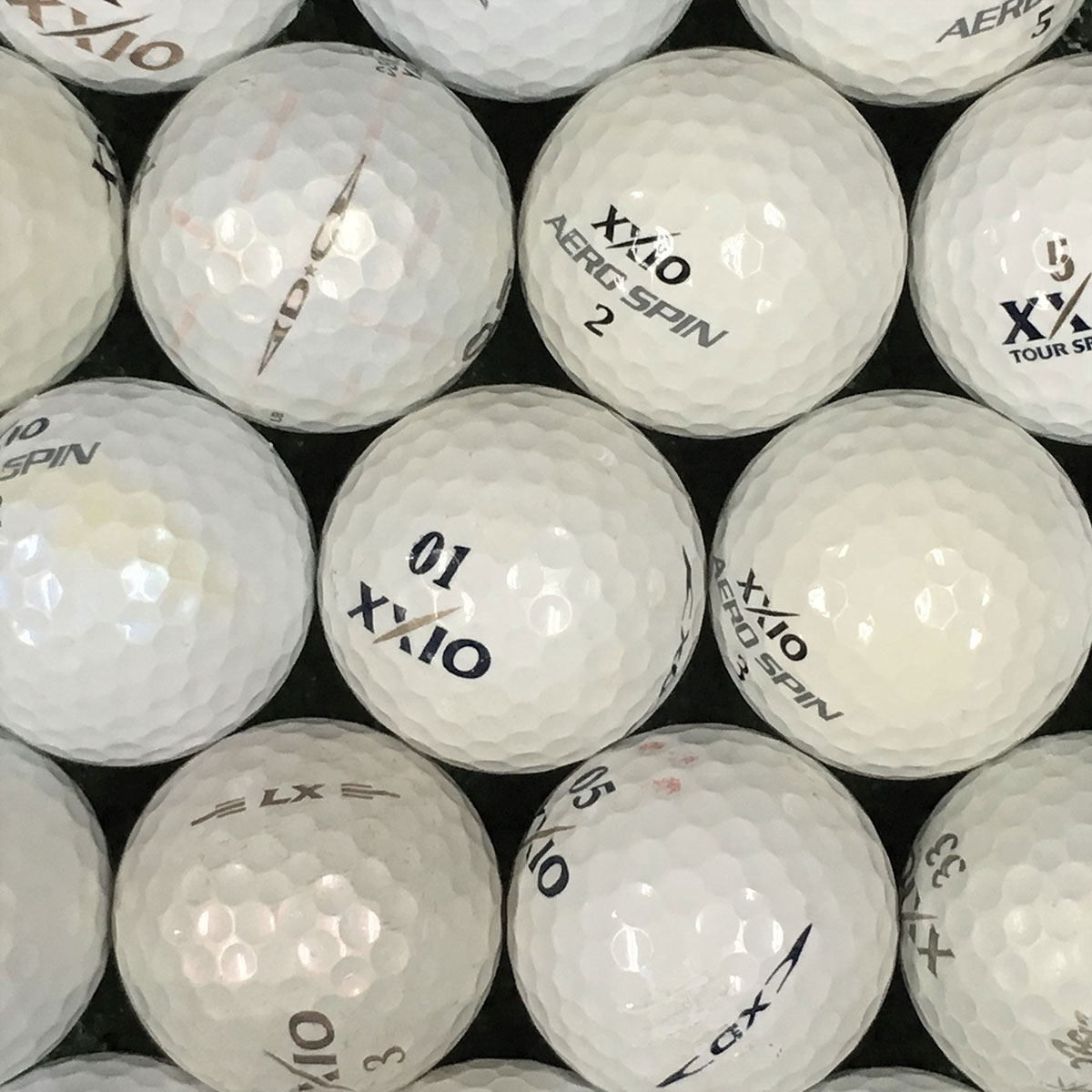 XXIO混合 練習用ボール 500個セット