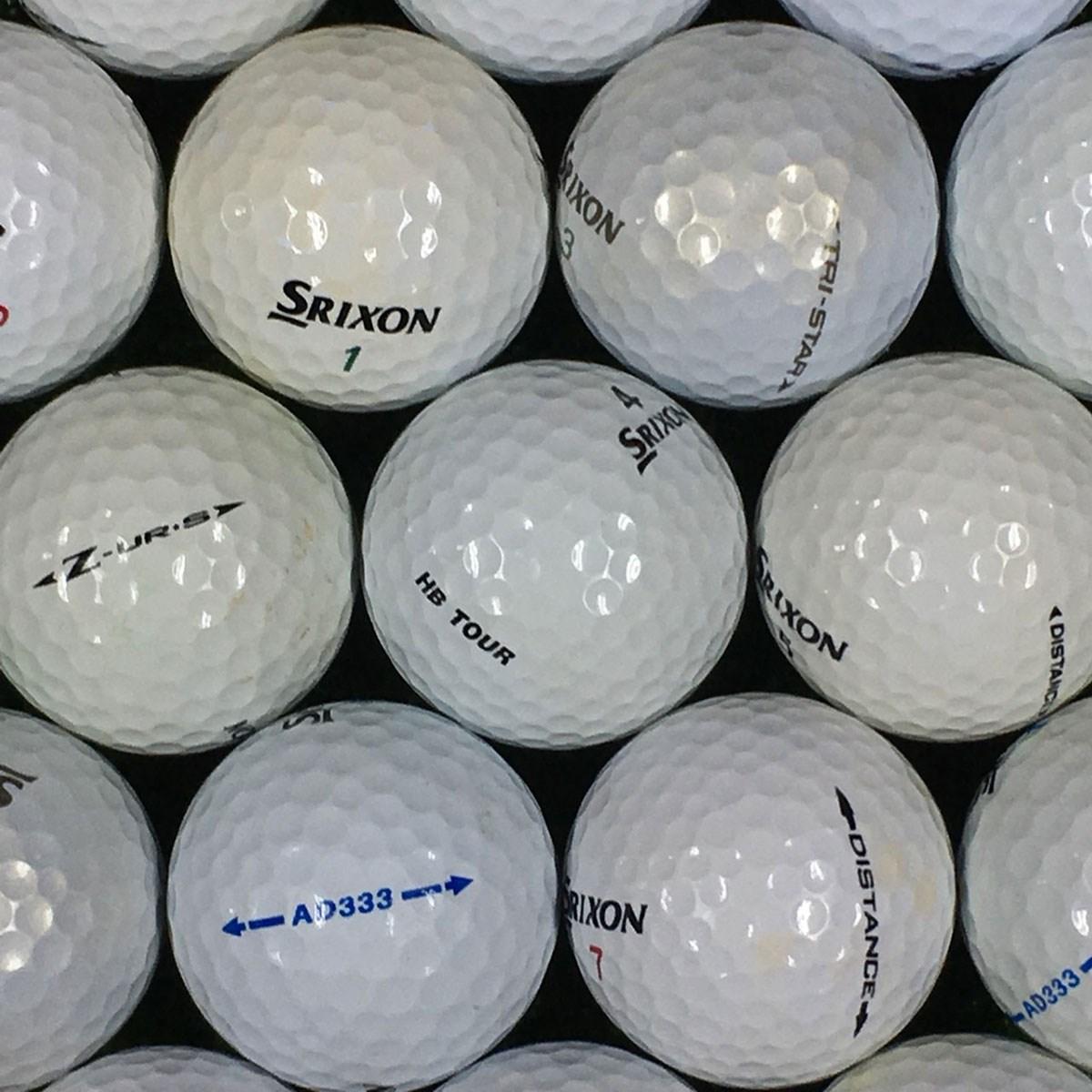 ロストボール SRIXON 銘柄混合 練習用ボール 500個セット