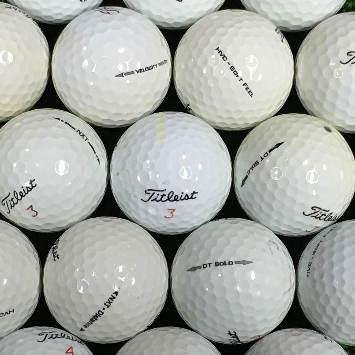 タイトリスト 銘柄混合 練習用ボール 500個セット