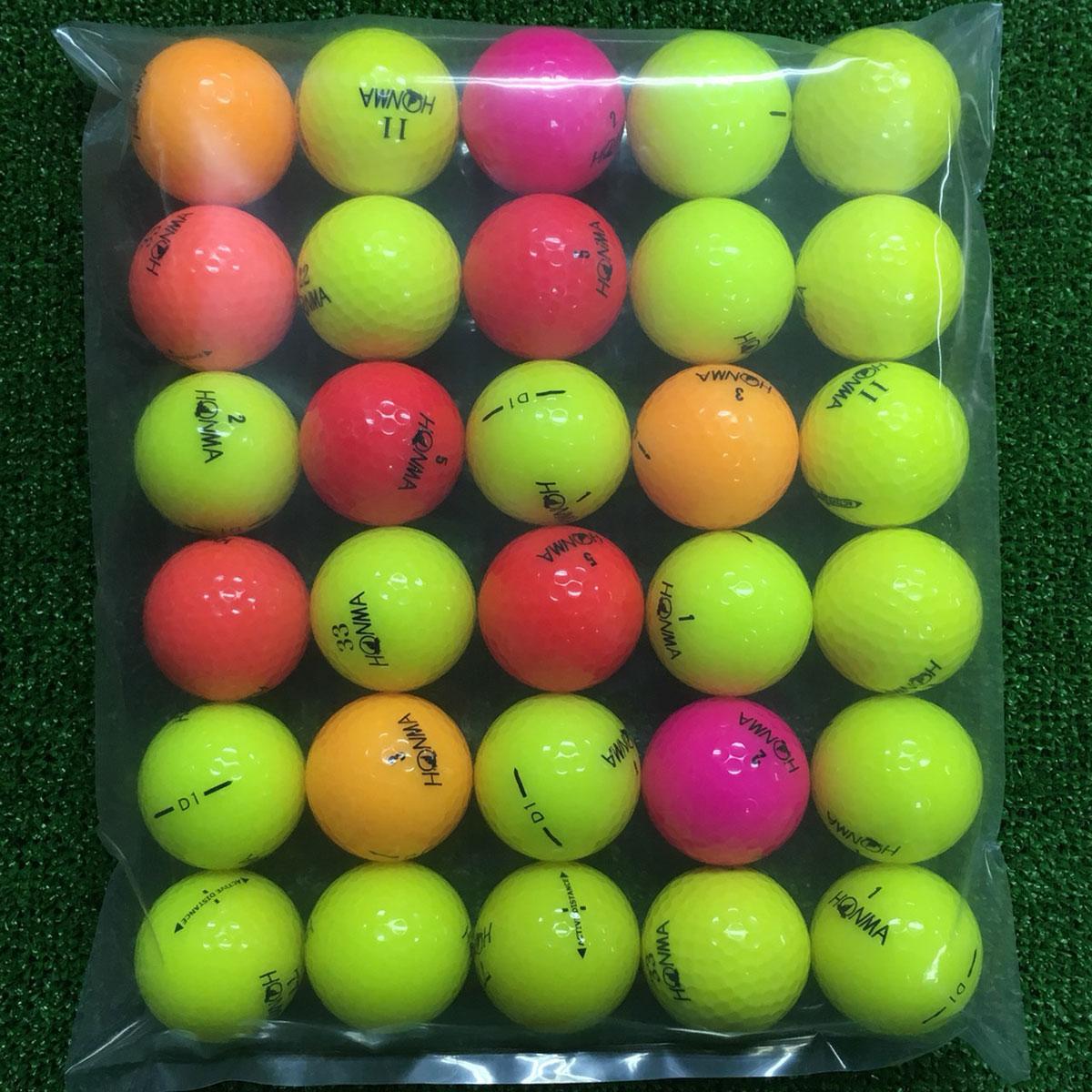 ホンマゴルフ 各銘柄混合 ボール 30個セット