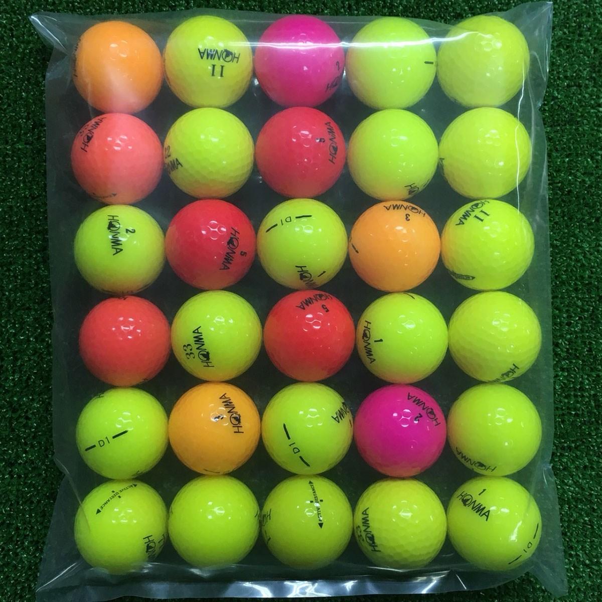 ロストボール ホンマゴルフ 各銘柄混合 ボール 30個セット