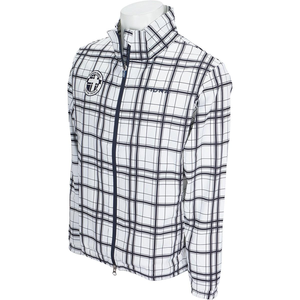 フィドラ チェックフルジップジャケット