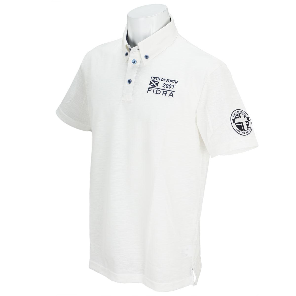 ストレッチ半袖ボタンダウンポロシャツ