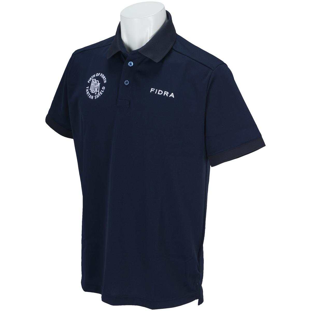 台衿付き半袖ポロシャツ