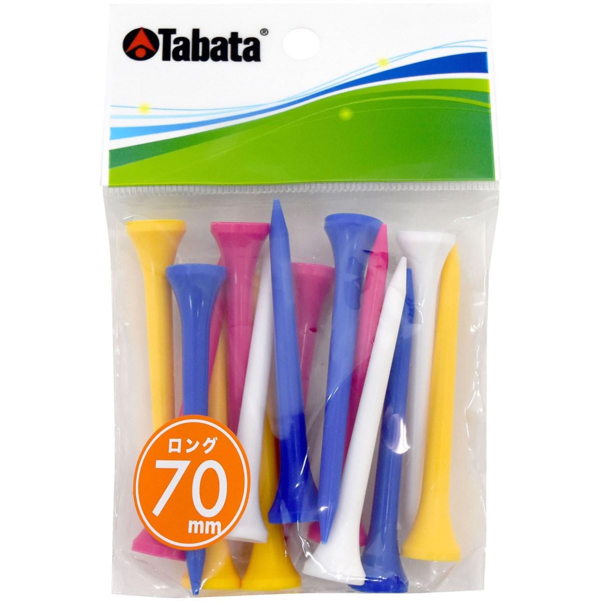 タバタ Tabata スリムティーロング ブルー/イエロー/ホワイト/グリーン/ピンク