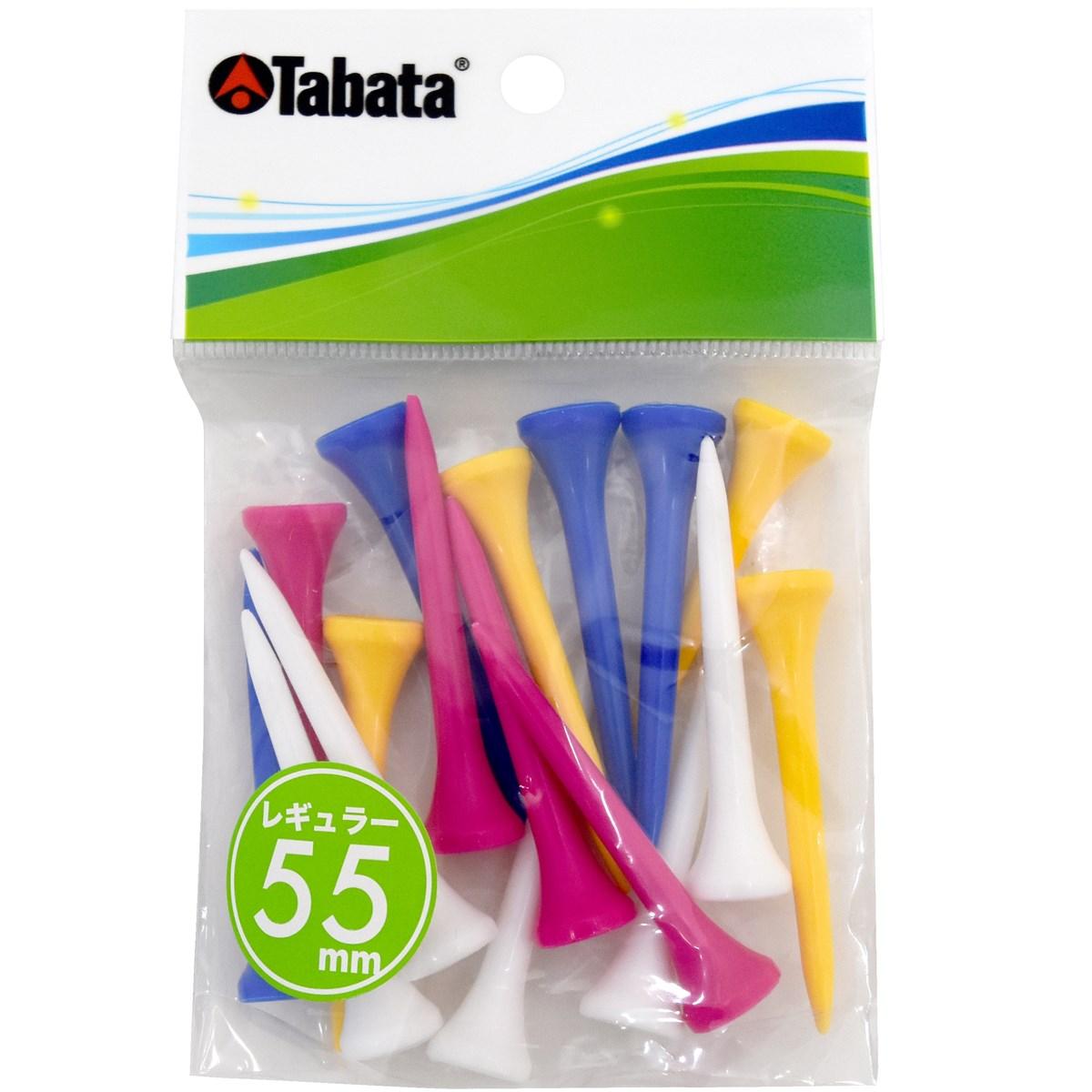 タバタ Tabata スリムティーレギュラー ブルー/イエロー/ホワイト/グリーン/ピンク