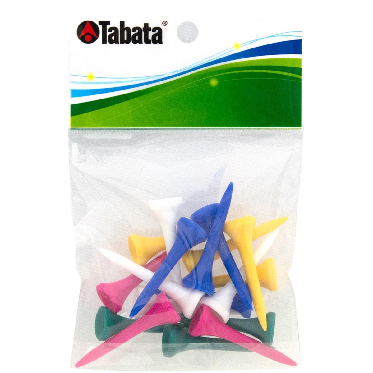 タバタ Tabata スリムティーショート ブルー/イエロー/ホワイト/グリーン/ピンク