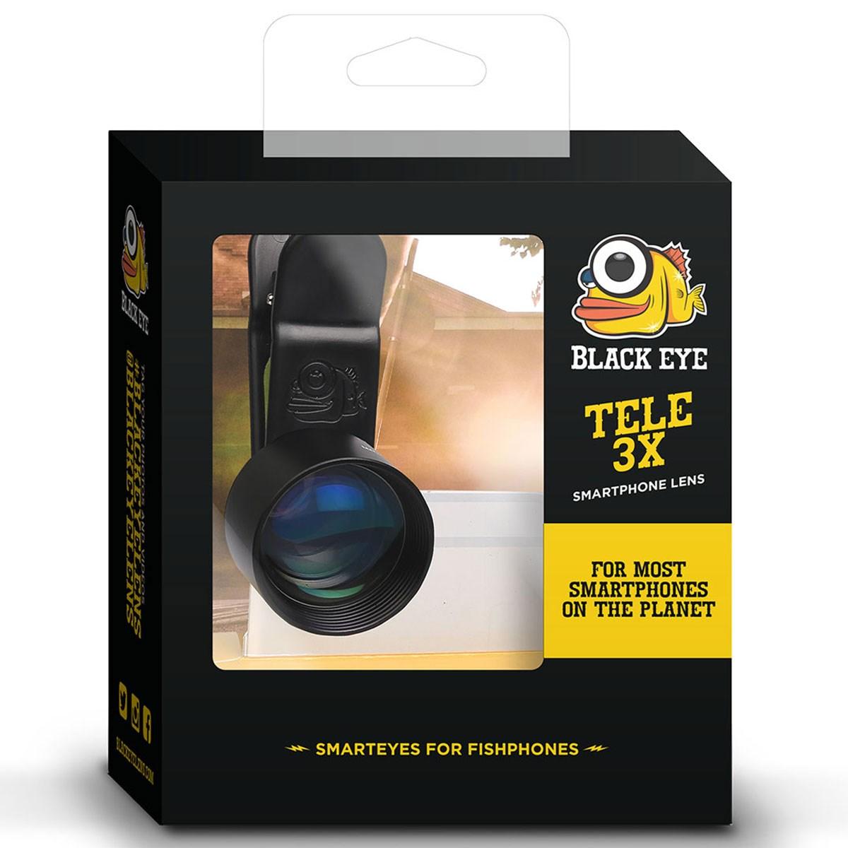 ブラックアイ クリップ式レンズ PROテレ3X(望遠)