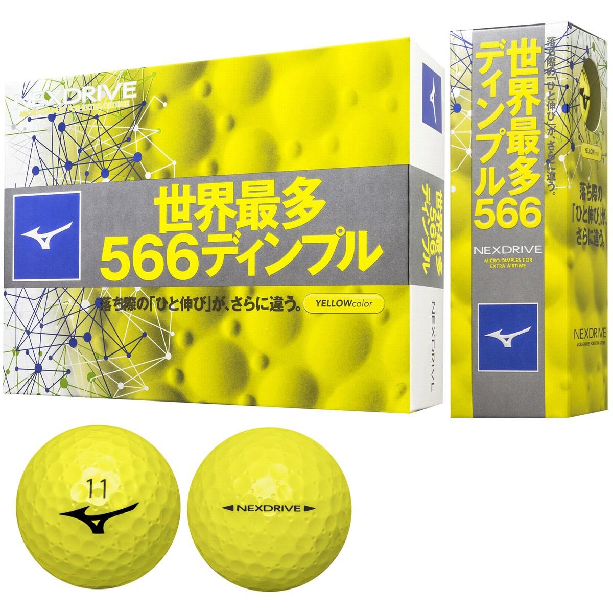 <ゴルフダイジェスト> ミズノ ネクスドライブ ボール ゴルフ