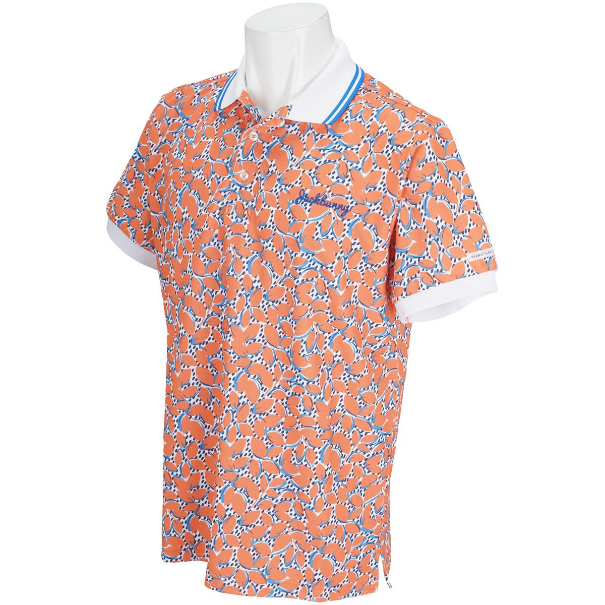 policott 鹿の子 半袖ポロシャツ