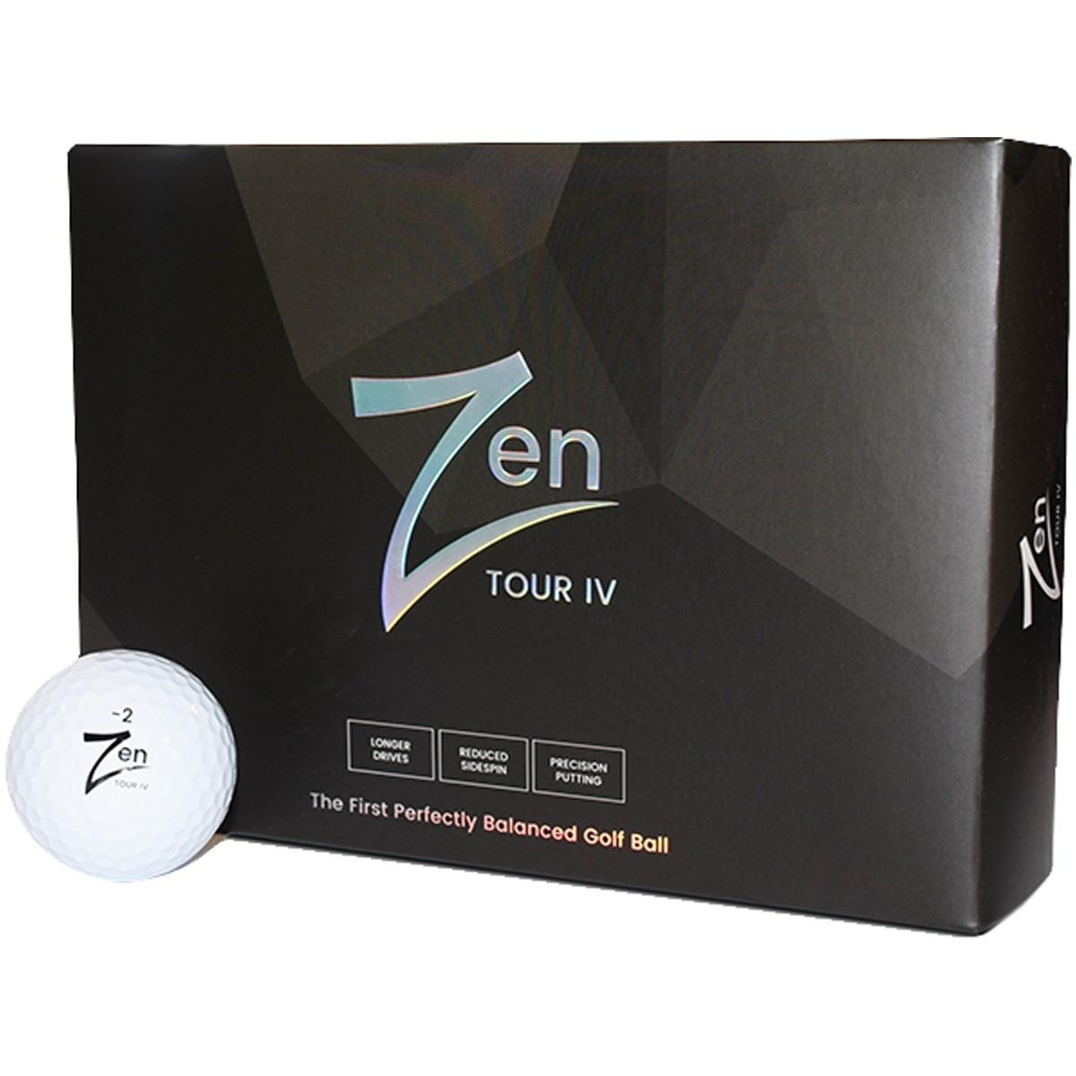 ゼンゴルフ Zen TOUR IV ボール