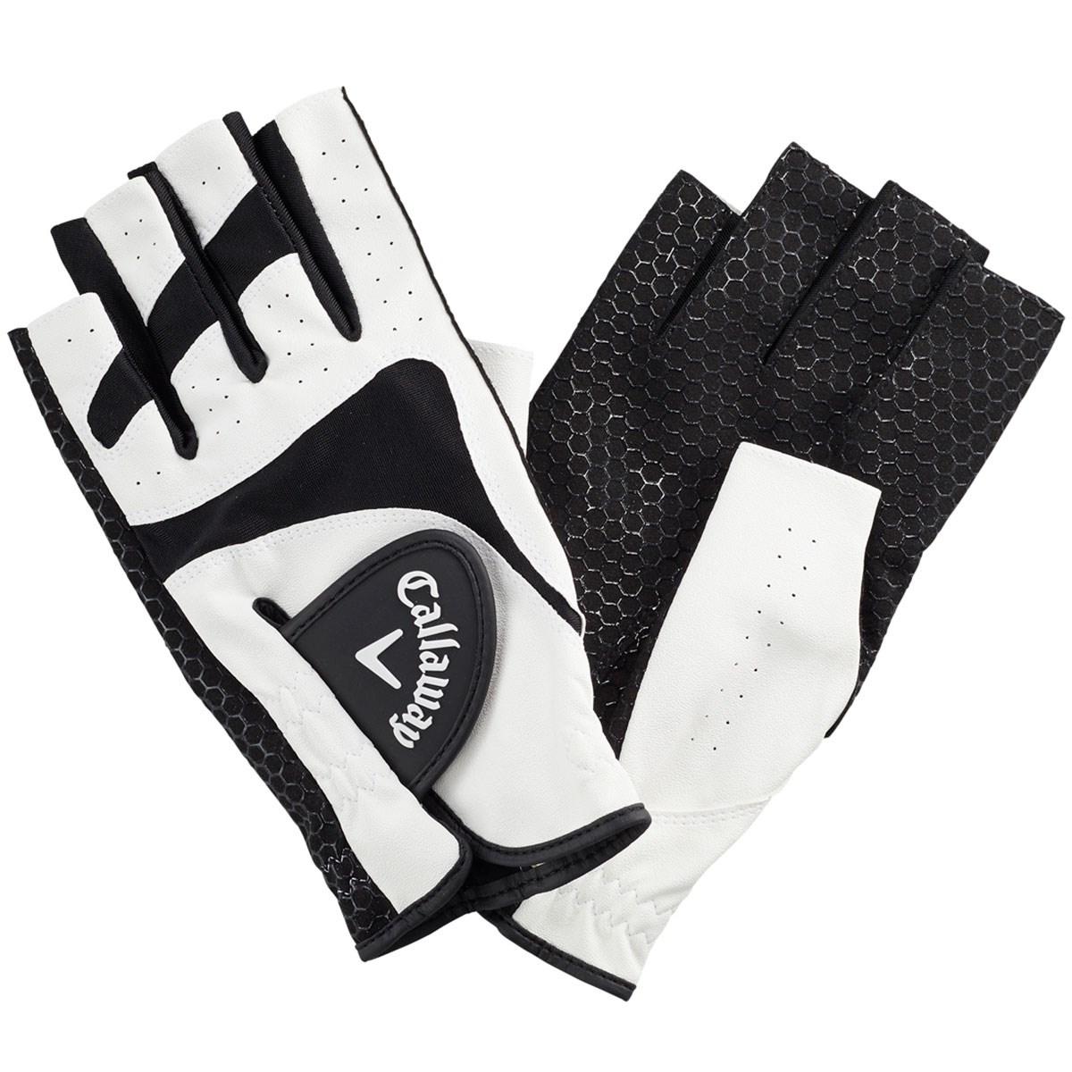 キャロウェイゴルフ(Callaway Golf) CPG Sport Dual OF パークゴルフ用 指先ショートタイプ グローブ 両手用