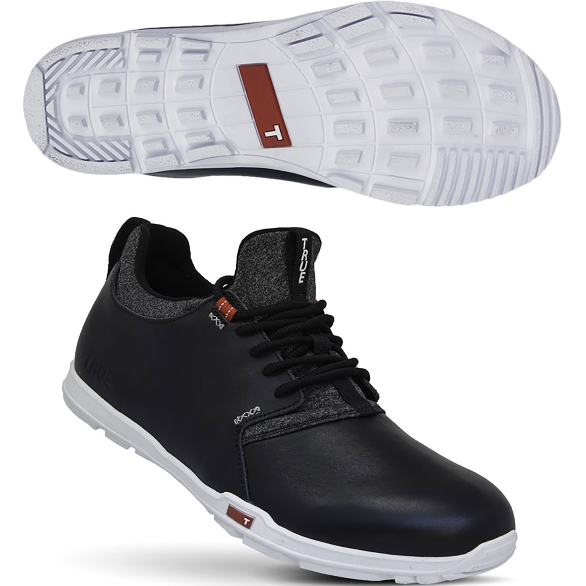 TRUE linkswear トゥルーリンクスウェア ORIGINAL シューズ 26cm ブラック 10