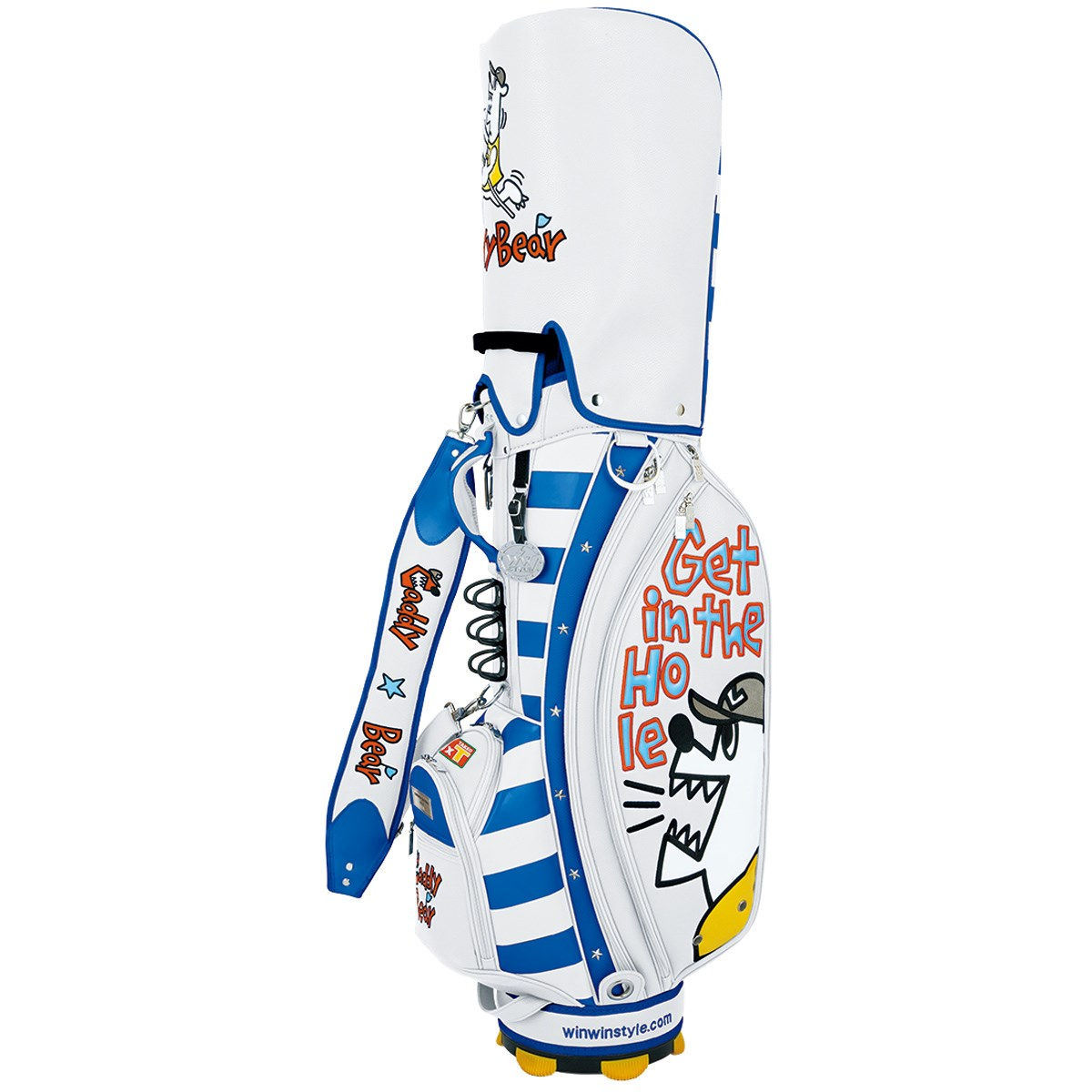 WINWIN STYLE WINWINSTYLE×野村タケオ コラボレーション キャディバッグ