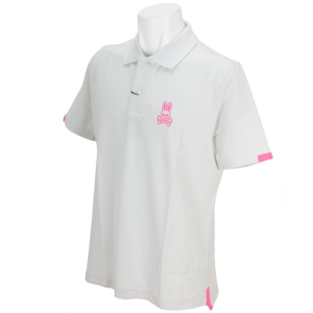 ネオンインサート半袖ポロシャツ