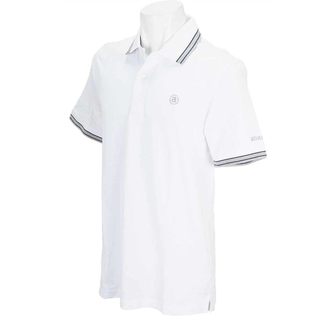 アバカス ABACUS 半袖ポロシャツ S ホワイト