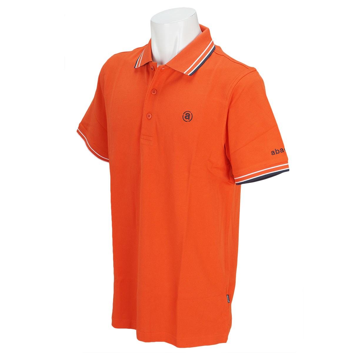 アバカス ABACUS 半袖ポロシャツ M オレンジ
