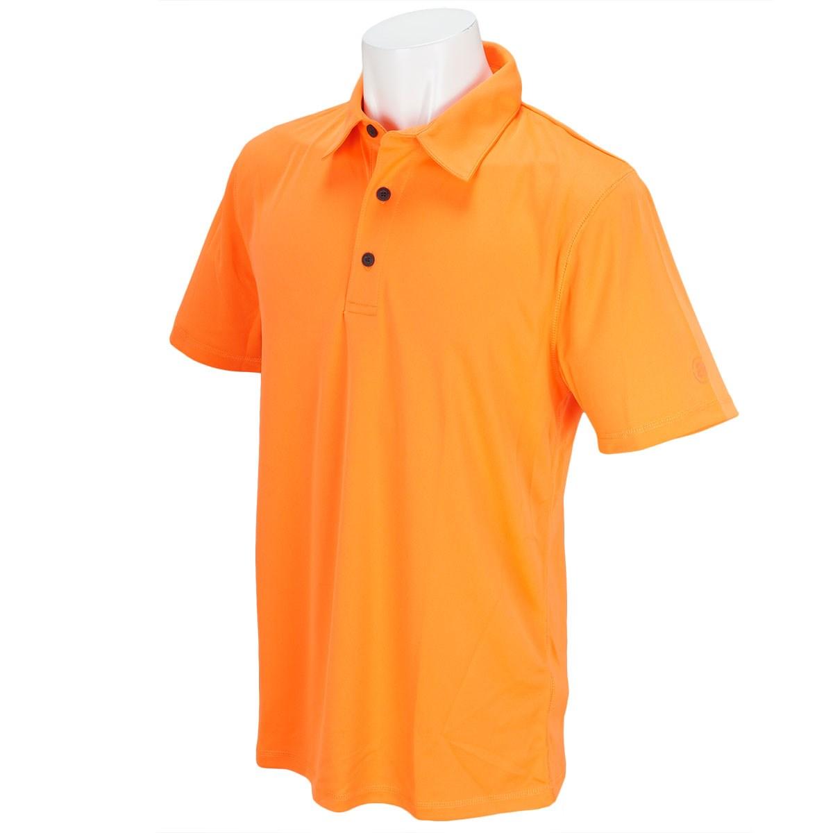 アバカス ABACUS 半袖ポロシャツ S オレンジ/イエロー
