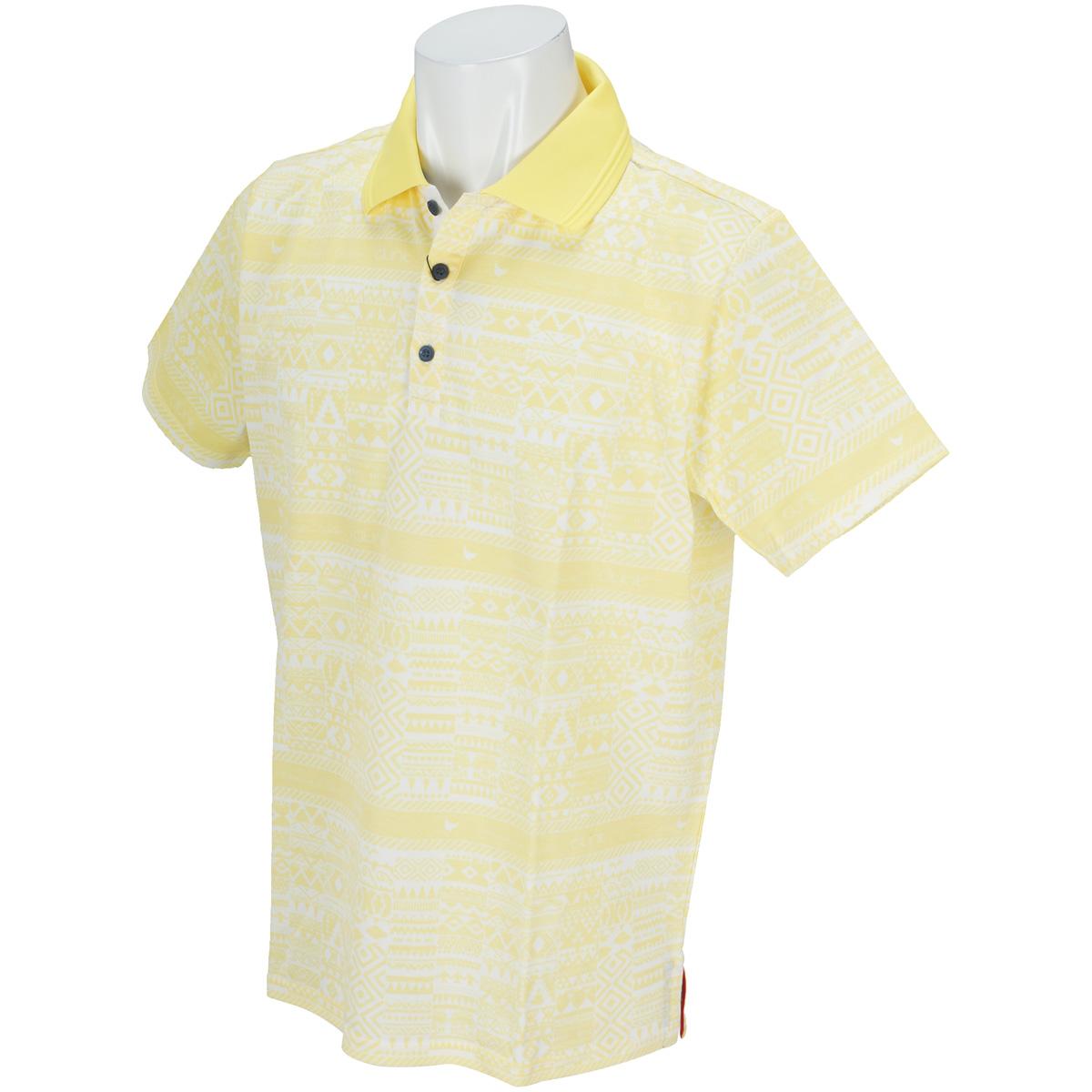 マヤボーダー半袖ポロシャツ