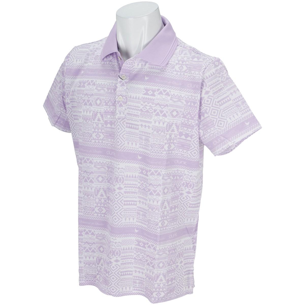 クランク(Clunk) マヤボーダー半袖ポロシャツ