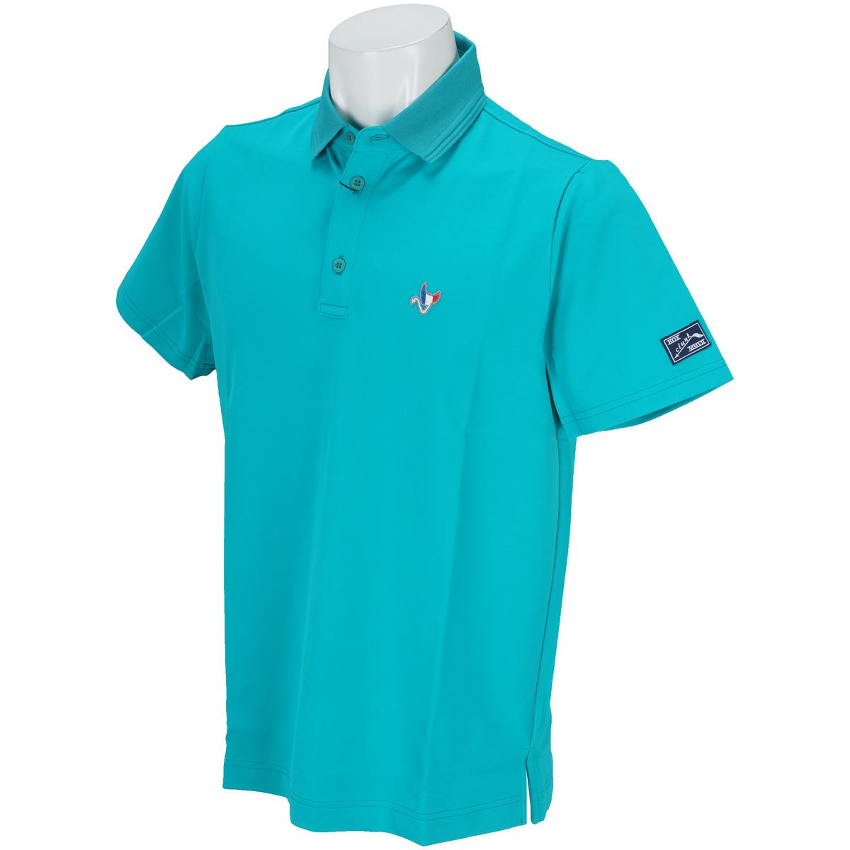 ストレッチ鹿の子半袖ポロシャツ