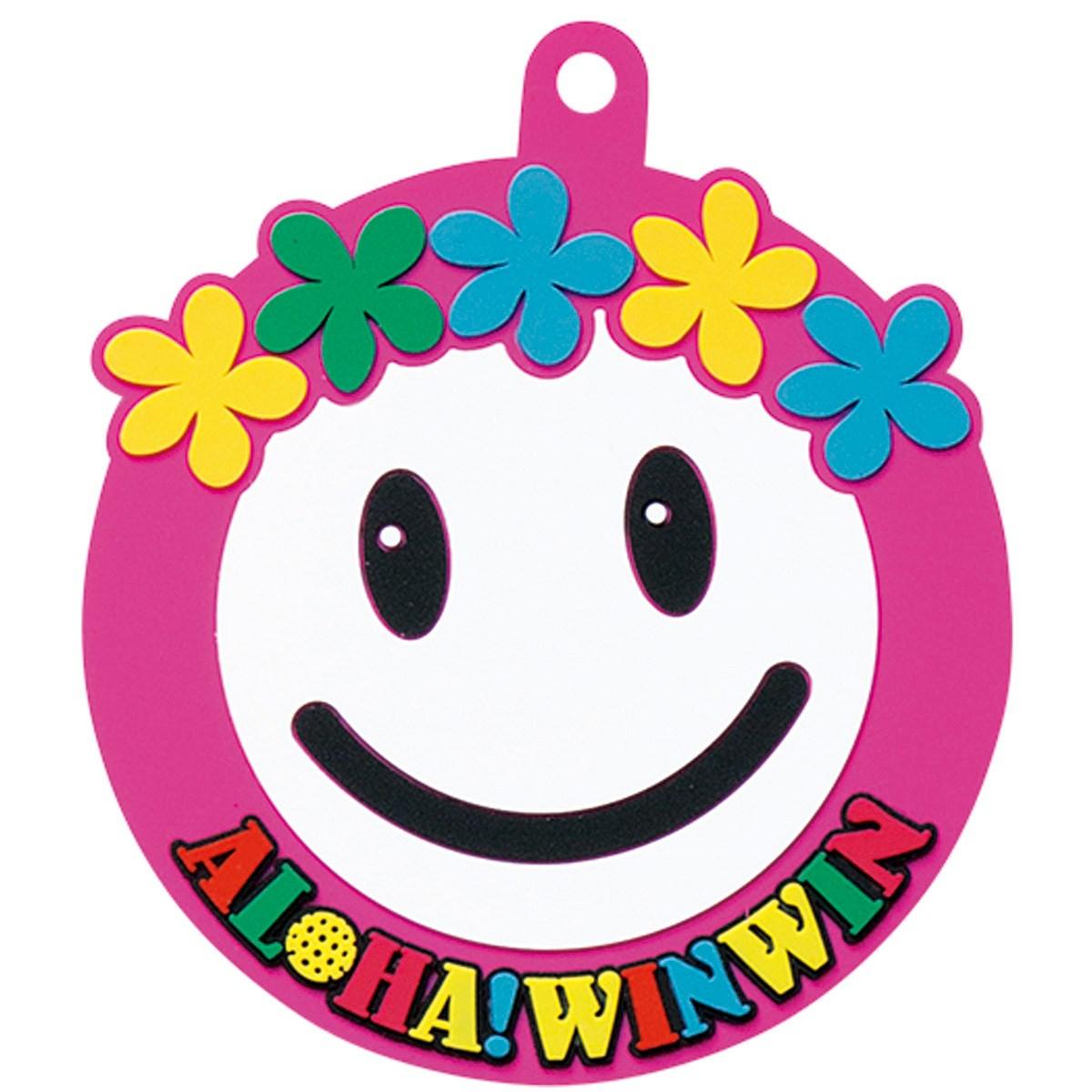 [2018年モデル] WINWIN STYLE ALOHA SMILEパターキャッチャー ピンク メンズ ゴルフ