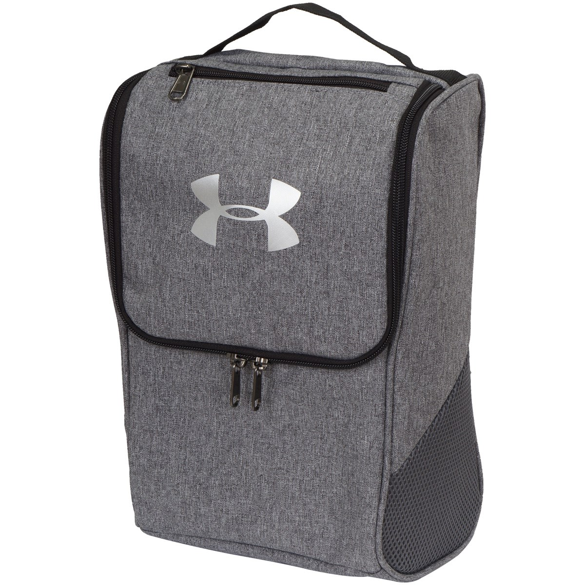 アンダーアーマー Under Armour UA シューズケース GRAPHITE MEDIUM HEATHER/GRAPHITE/SILVER