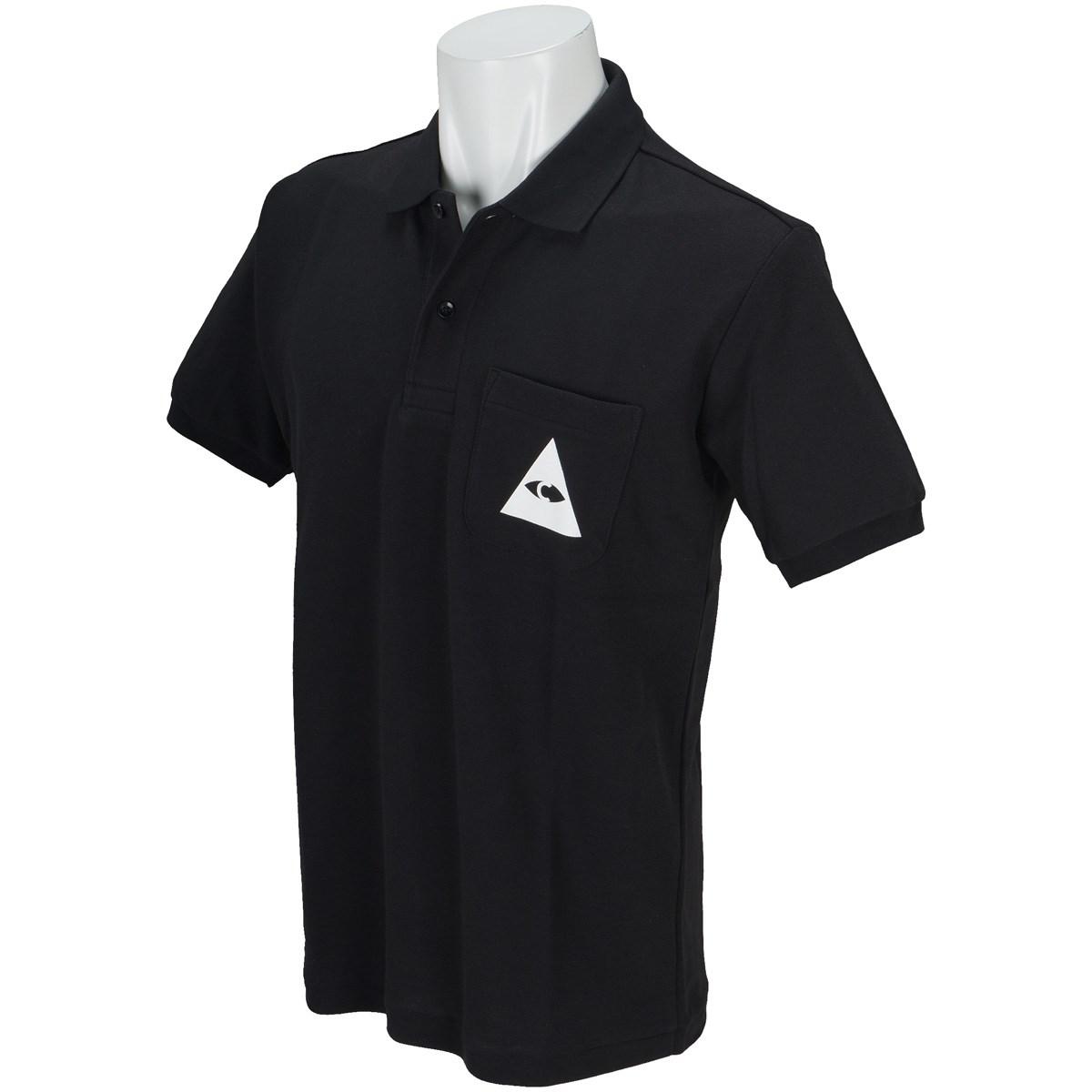 キャプテンズヘルム CAPTAINS HELM TRIANGLE 半袖ポロシャツ M ブラック