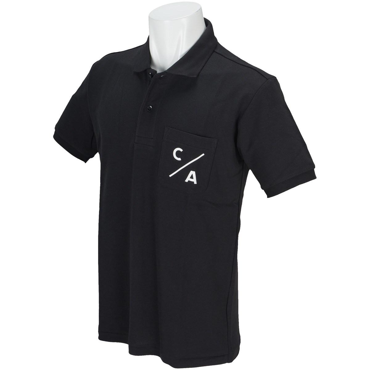 キャプテンズヘルム CAPTAINS HELM 半袖ポロシャツ L ブラック