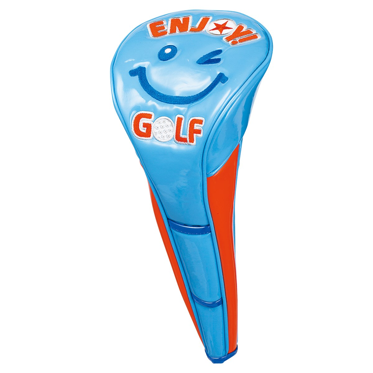 [アウトレット] [在庫限りのお買い得商品] WINWIN STYLE ENJOY GOLF ヘッドカバー DR用 スカイブルー ゴルフ